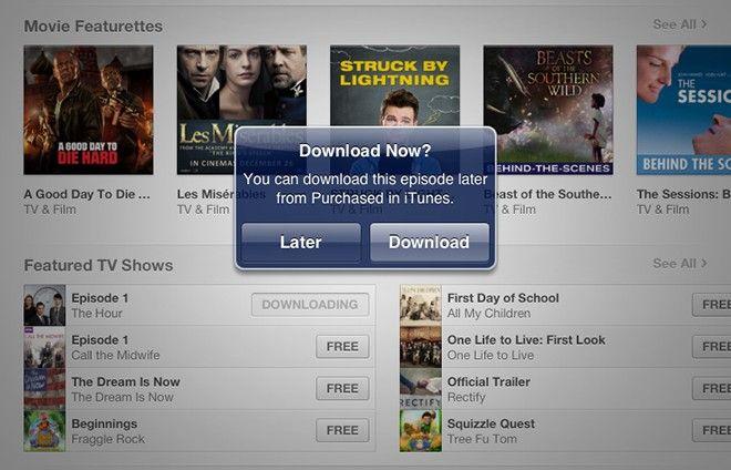 Apple dodaje opcję ?ściągnij później? do iTunes 11