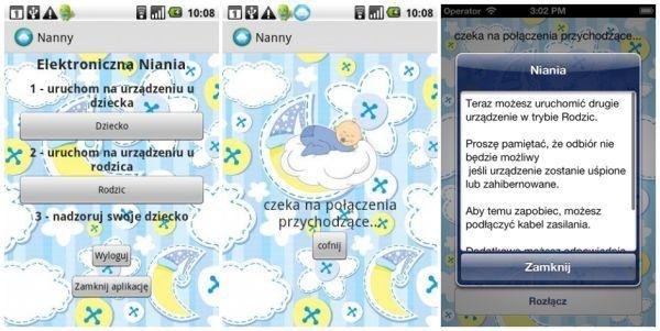 Elektroniczna niania na urządzenia z iOS. Zadbasz o bezpieczeństwo swojego dziecka