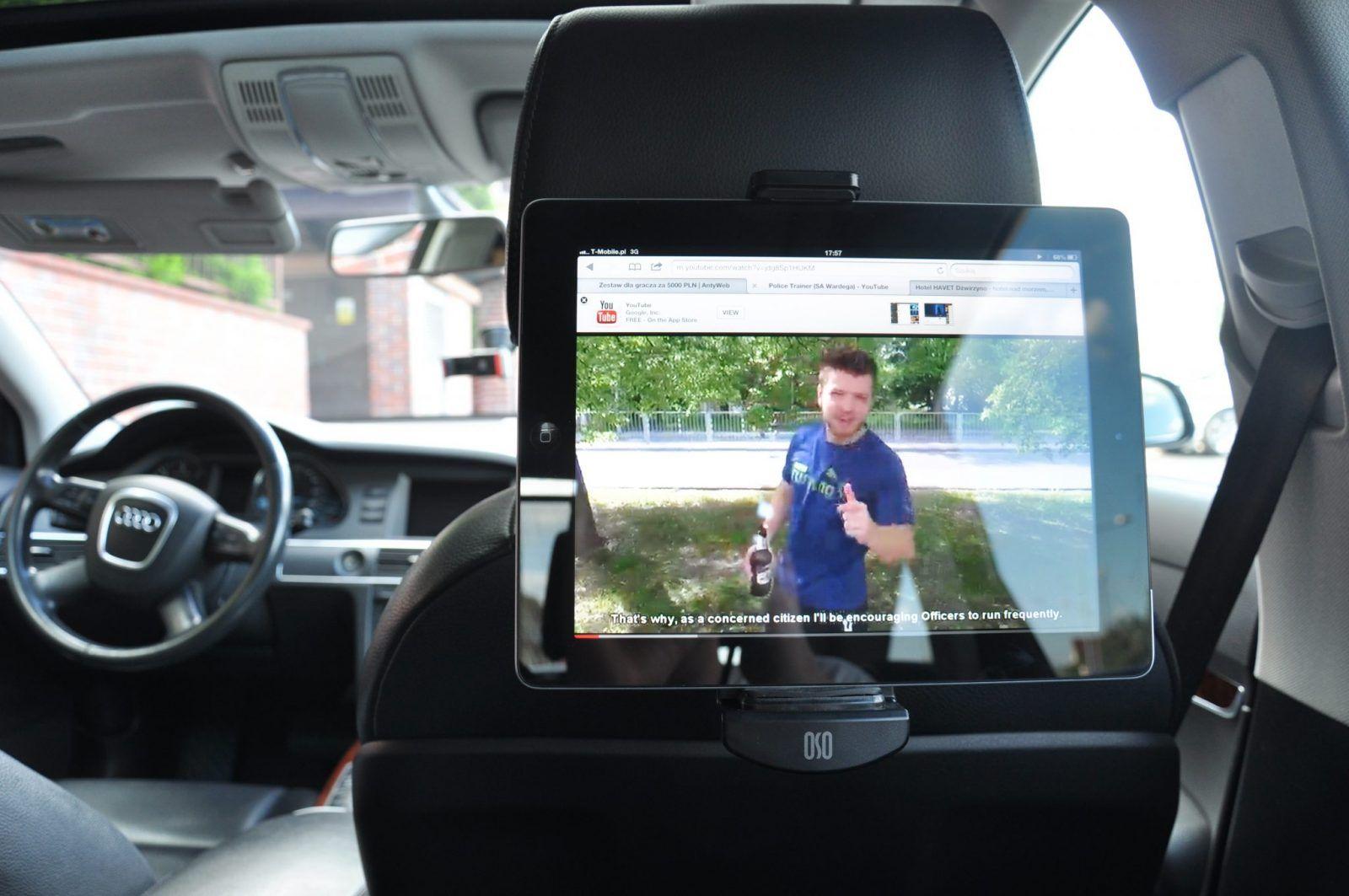 Recenzja OSO Tablet Mount & OSO Headrest Monut – Tablet w samochodzie
