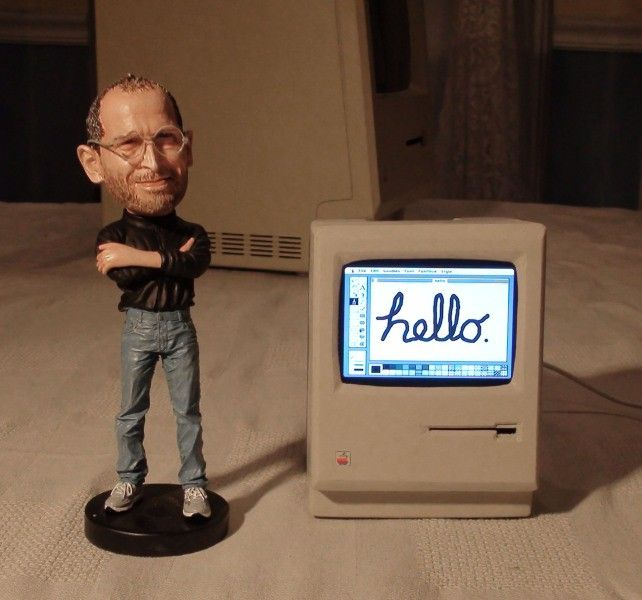 Najmniejszy, działający Macintosh na świecie