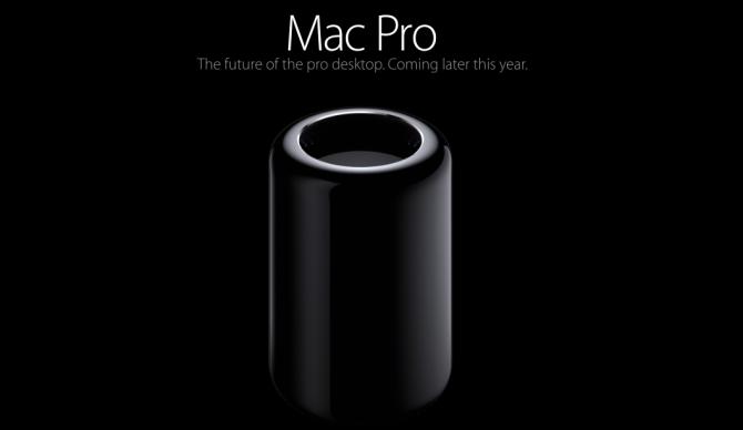 Reklamy promujące nowego Maka Pro
