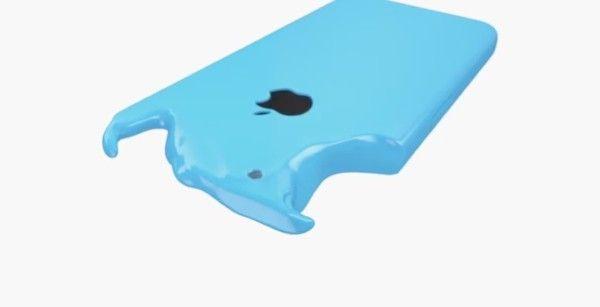 Reklama plastikowego iPhona