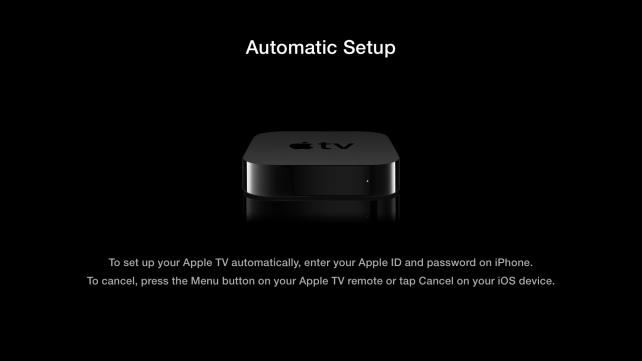 Przyjemniejsza konfiguracja Apple TV
