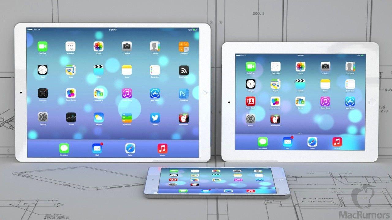 Testy iPada z ekranem 12 cali