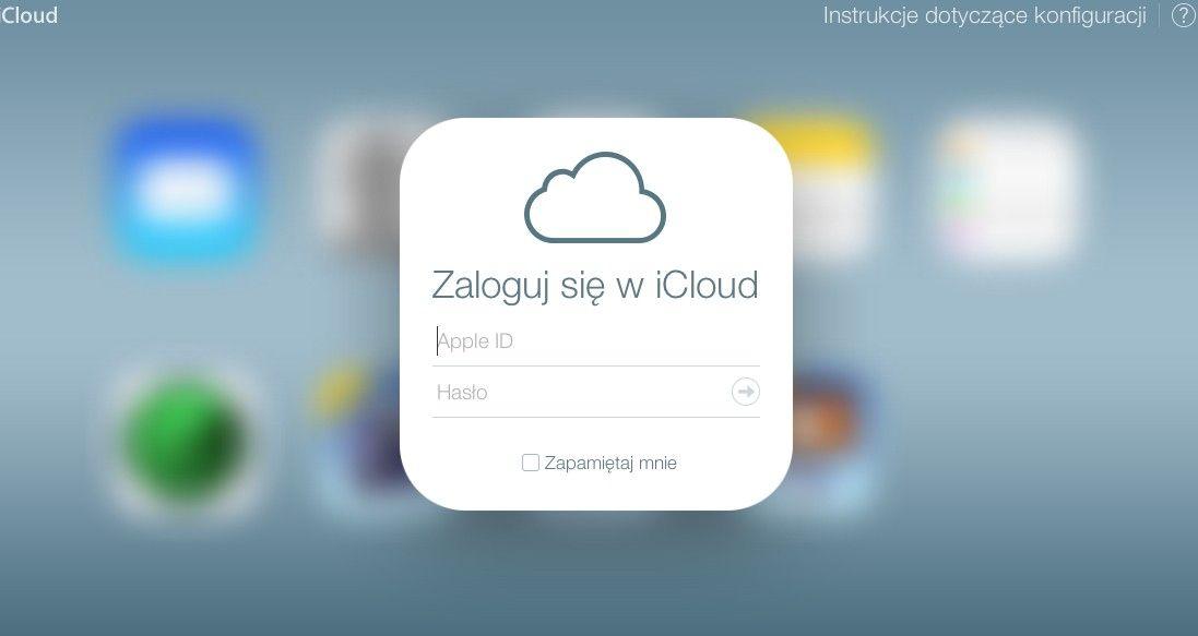 iCloud dostosowane wizualnie do nowego systemu