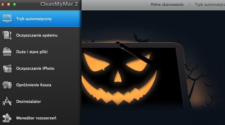 CleanMyMac 2 tańszy z okazji Halloween