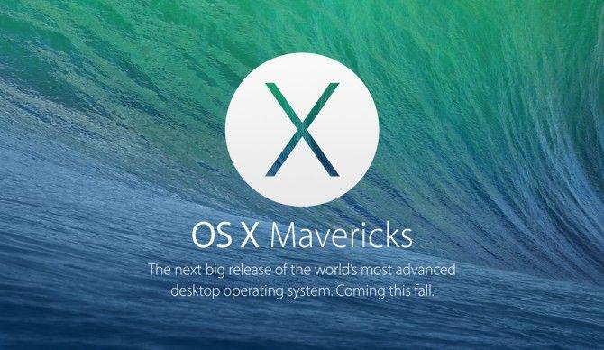 Nadchodzące aktualizacje dla OS X Mavericks