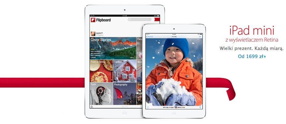 iPad mini Retina już dostępny