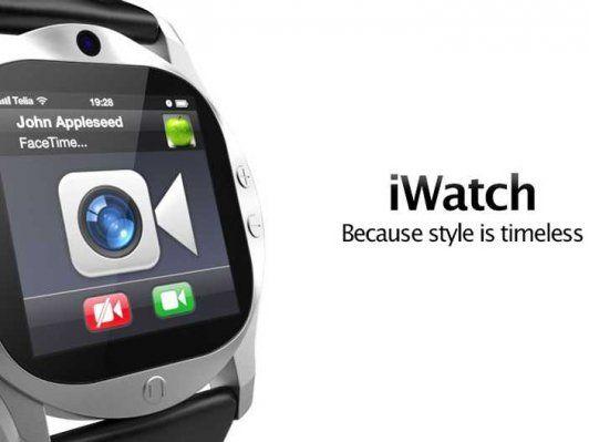 Dwa różne zegarki iWatch