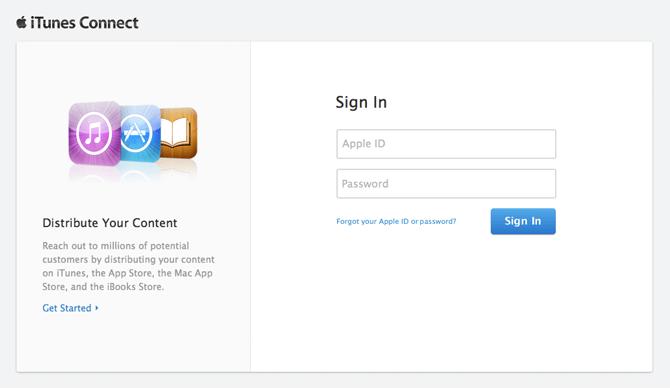 iTunes Connect przez święta nieczynne