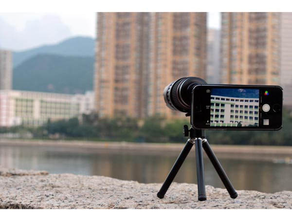 Teleskop optyczny dla iPhone 5 i 5S
