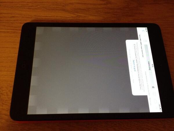 Problemy z iPadem mini Retina