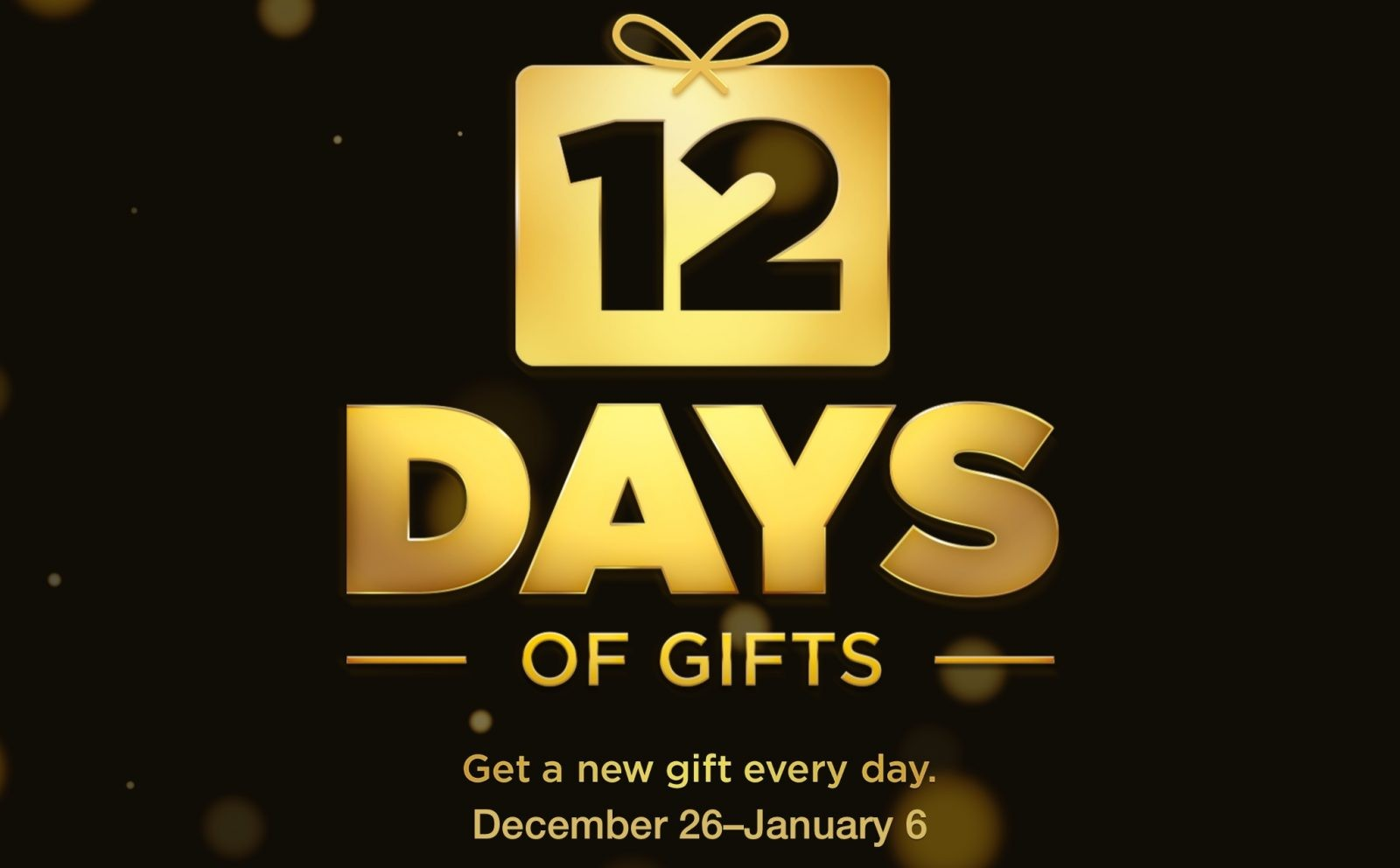 Dziśstartuje 12 Days of Gift