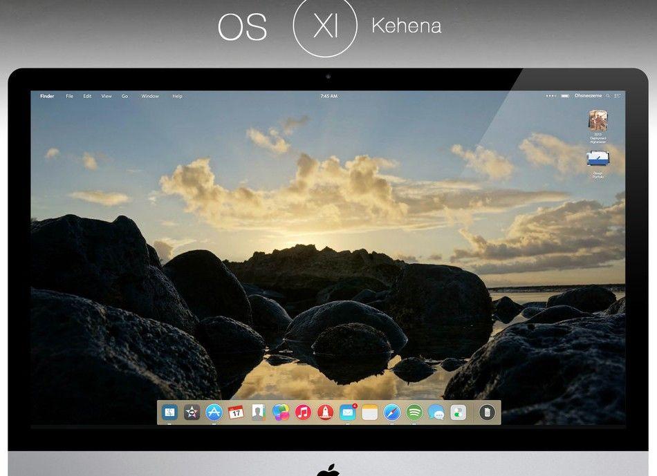 Oto jak mogłyby wyglądać niektóre aplikacje w kolejnej wersji OS X