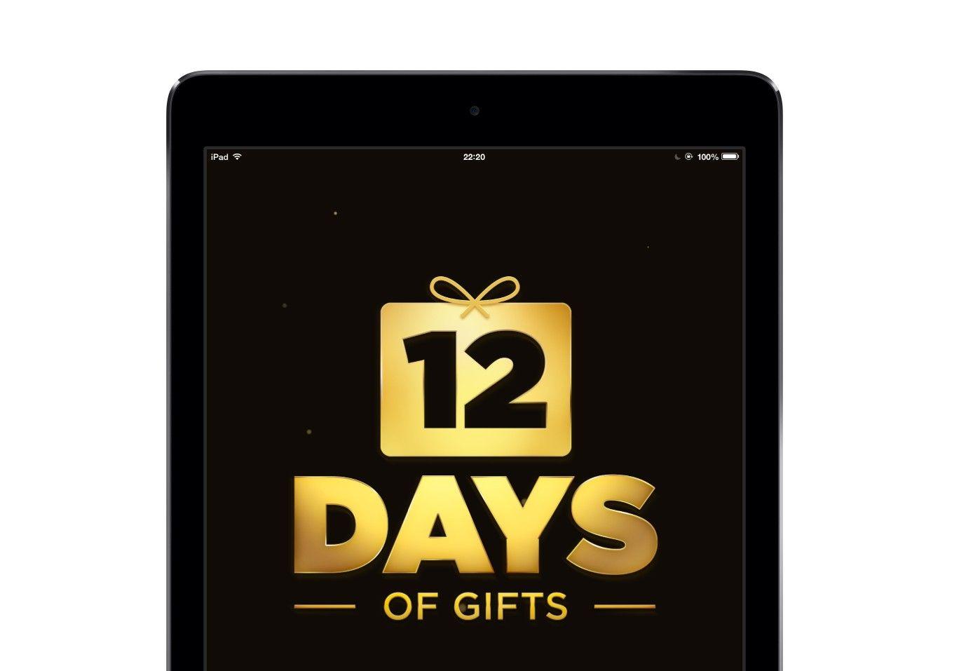 12 Days of Gift i pierwszy prezent od Apple
