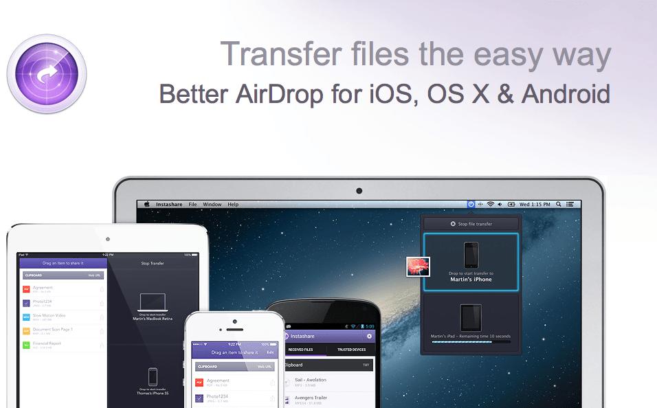 Instashare – czyli konkurencja dla usługi AirDrop