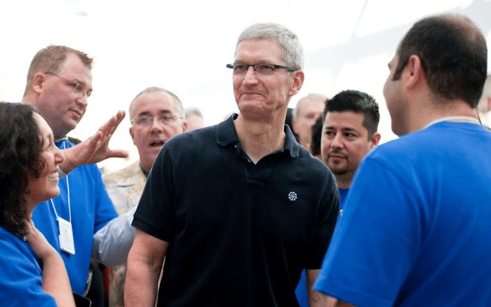 Tim Cook i wielkie plany Apple na następny rok