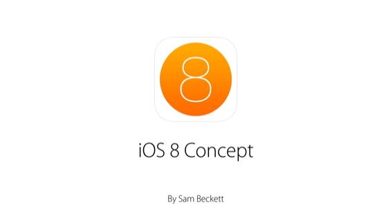 Koncept powiadomień systemu iOS