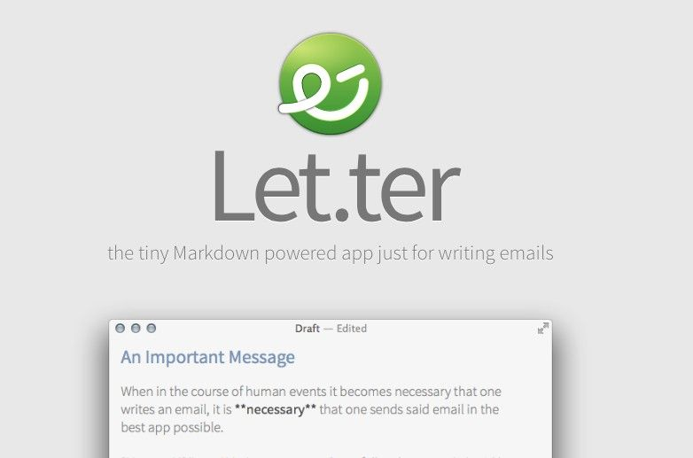 Let.ter – nowatorskie podejście do komponowania wiadomości e-mail