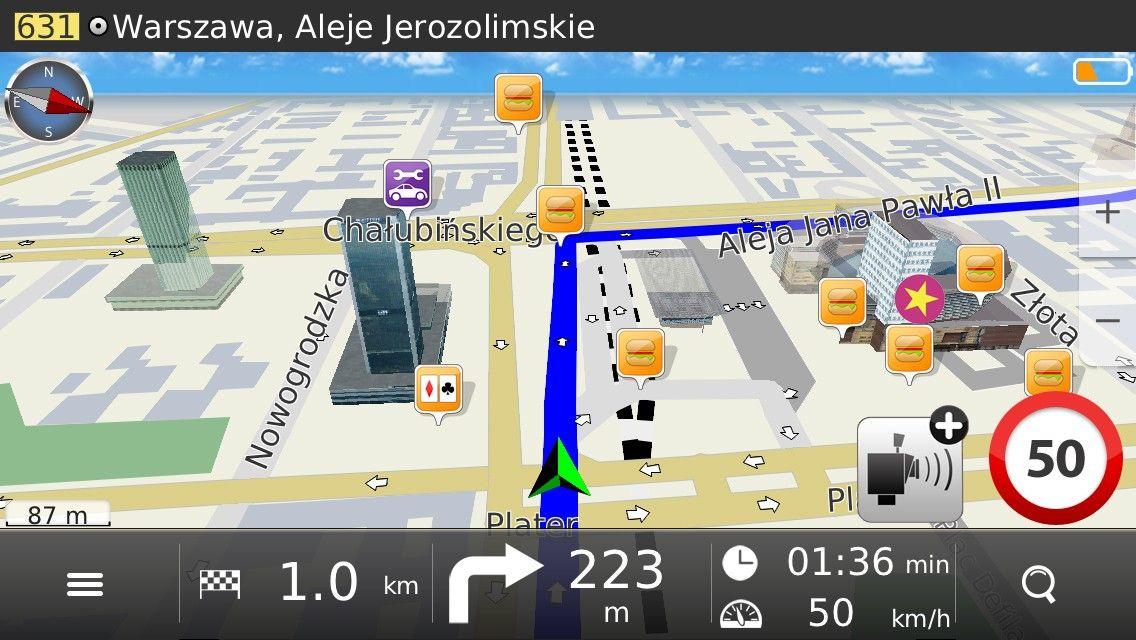 MapaMap Polska ? bezpłatna nawigacja w App Store.