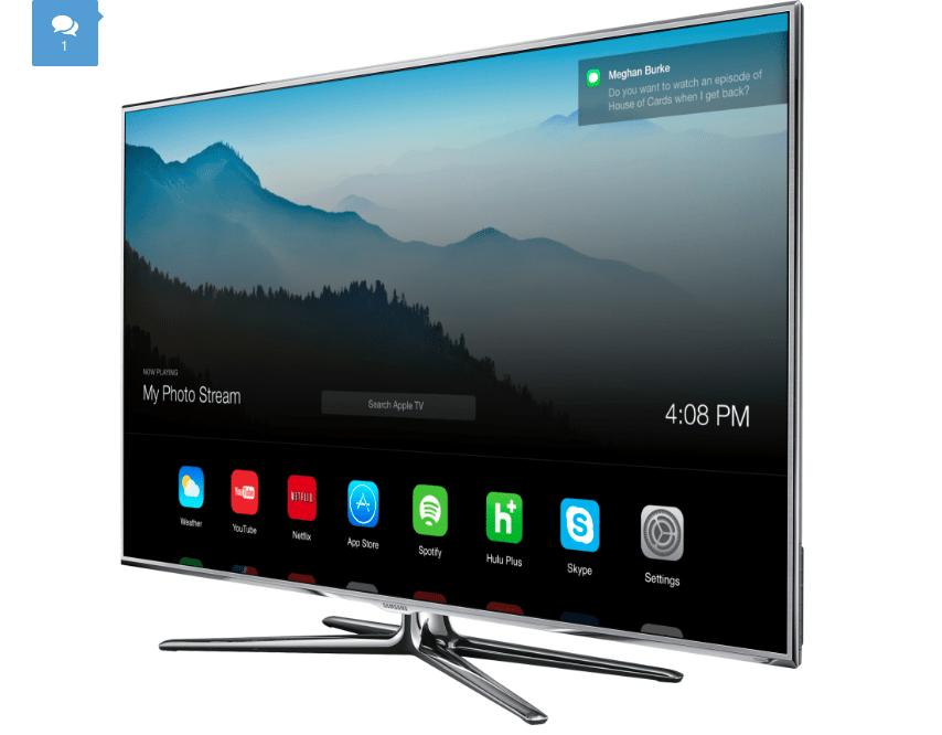 Jak mógłby wyglądać interfejs Apple TV