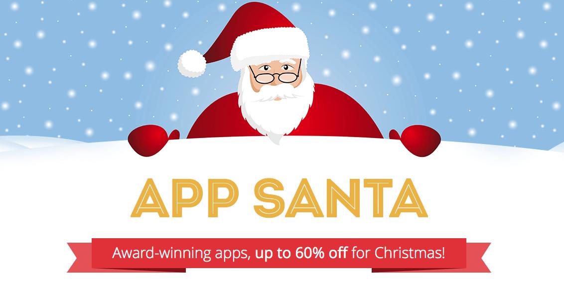 App Santa i spore obniżki cen na aplikacje
