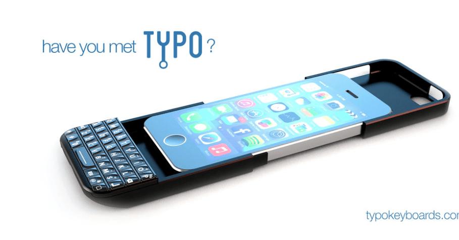 iPhone z fizyczną klawiaturą
