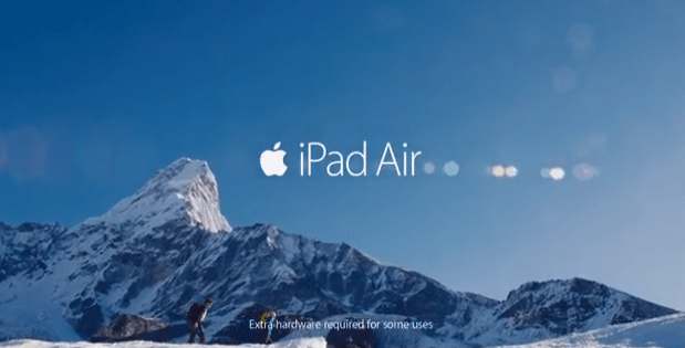 Nowa reklama iPad?a Air