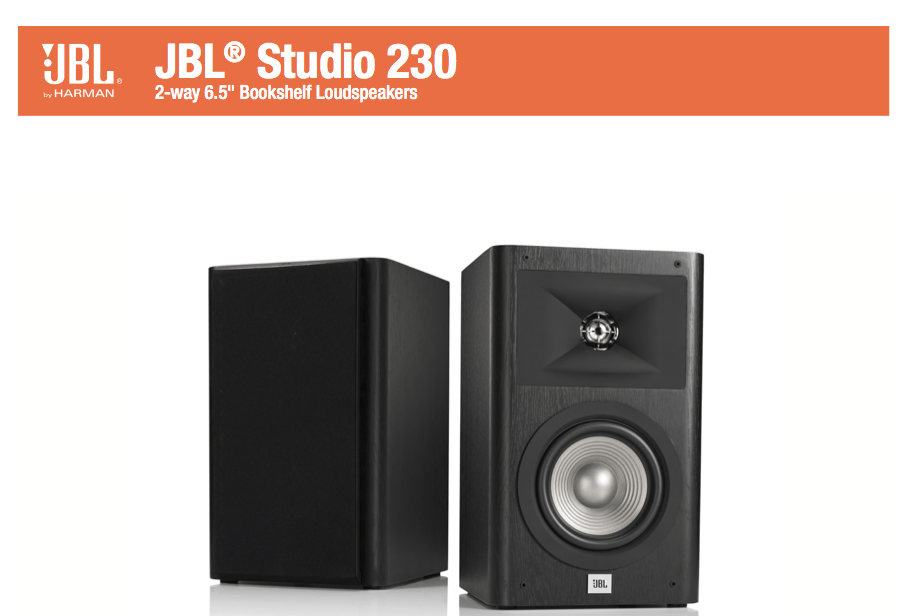 JBL Studio 220 i Studio 230: Półkownicy w ofensywie