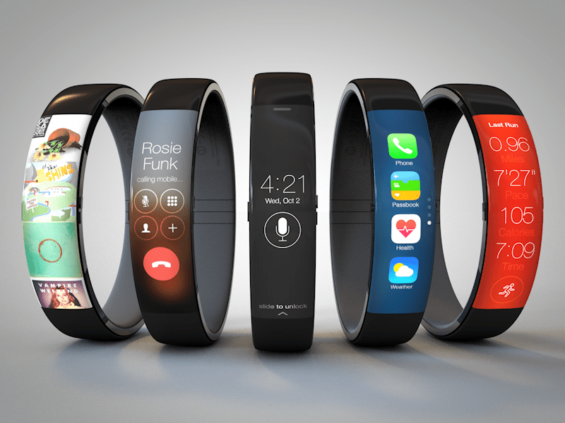 Interesujący koncept zegarka od Apple