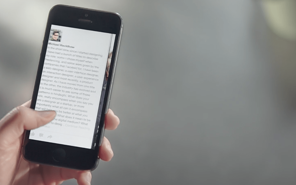 Paper – czyli Facebook inaczej