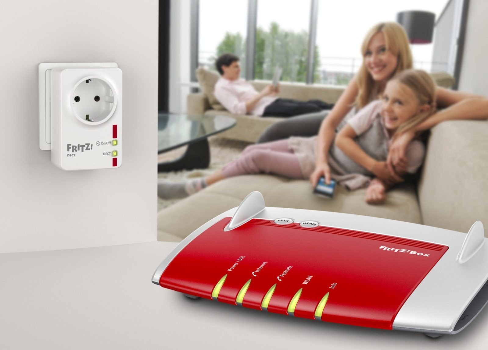 Pierwsze inteligentne gniazdko od AVM dla Smart Home