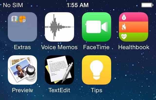 Kolejny screen z iOS 8?