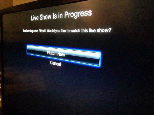 Apple TV z funkcją powiadomień
