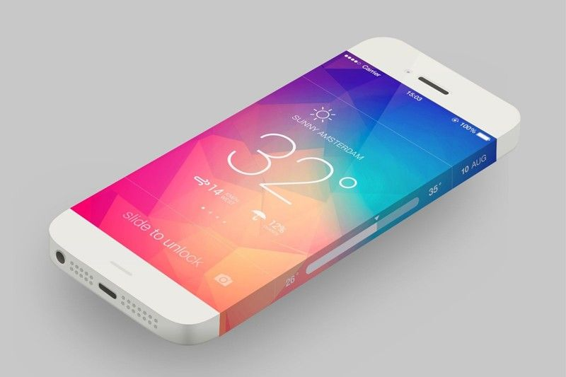iPhone 6 z wbudowanym termometrem i barometrem