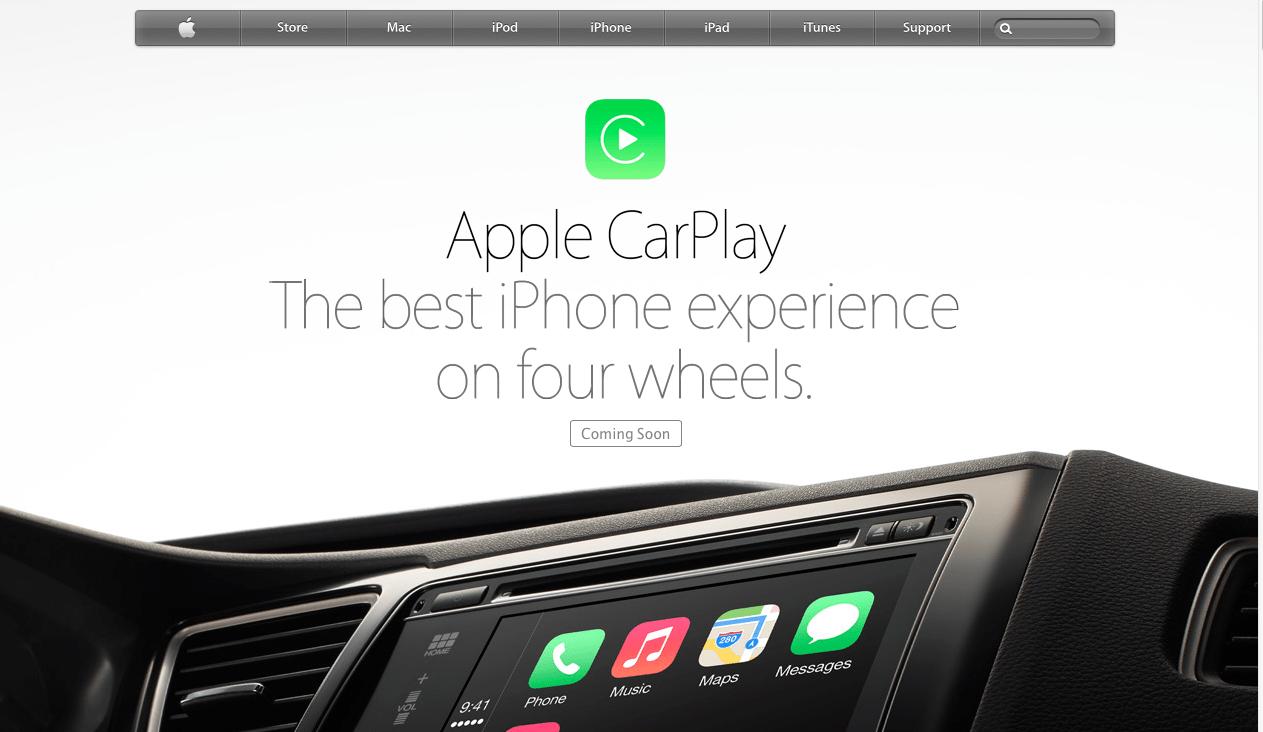 """Nowa strona Apple poświęcana """"iOS in the Car"""""""