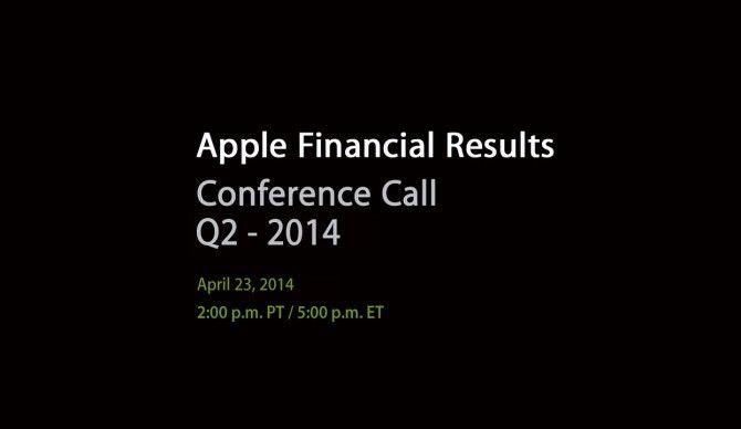 Apple ogłosi wyniki finansowe 23 kwietnia