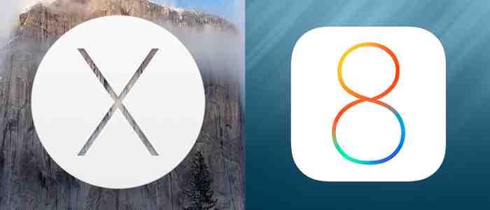 Kolejna beta systemów OS X Yosemite i iOS 8