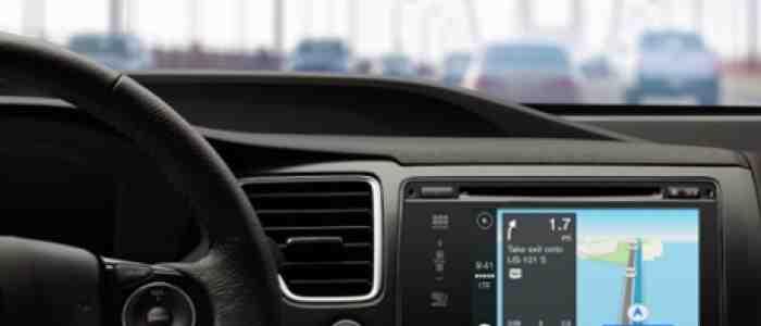 Hyundai Sonata i system CarPlay