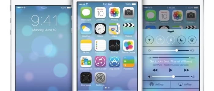 Przejęcie iOS 7 na poziomie 90 %