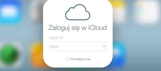 Dwustopniowy system logowania do iCloud