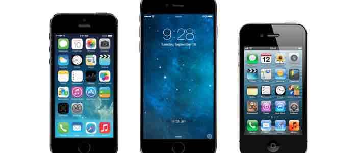 iPhone 6 wraz z opakowaniem na kolejnych zdjęciach