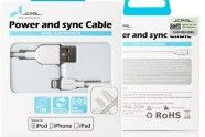 Recenzja kabla JCPAL Power and sync Cable w AppleMobile.pl x1