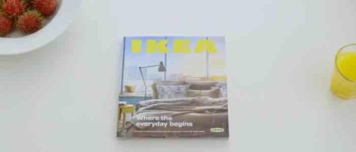 IKEA i parodia reklamy pierwszego iPada