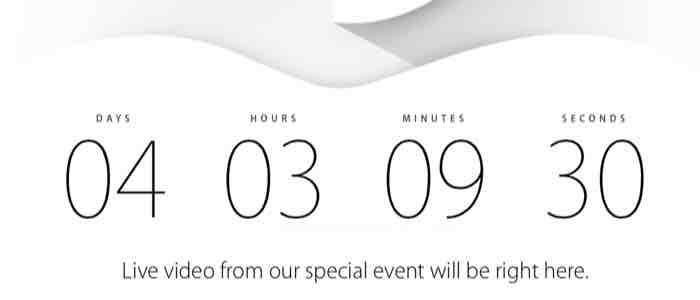 Relacja na żywo ze zbliżającej się konferencji Apple