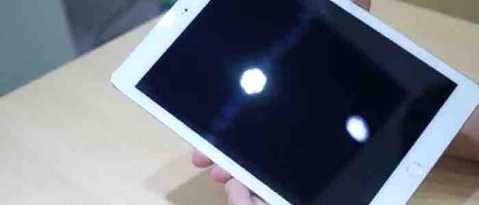 iPad Air 2 na filmie