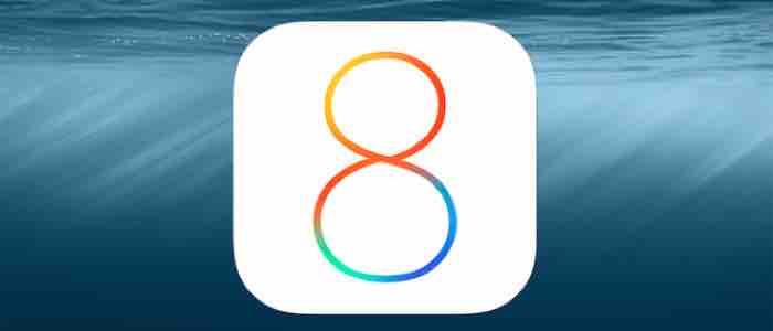 iOS 8 zaktualizowany