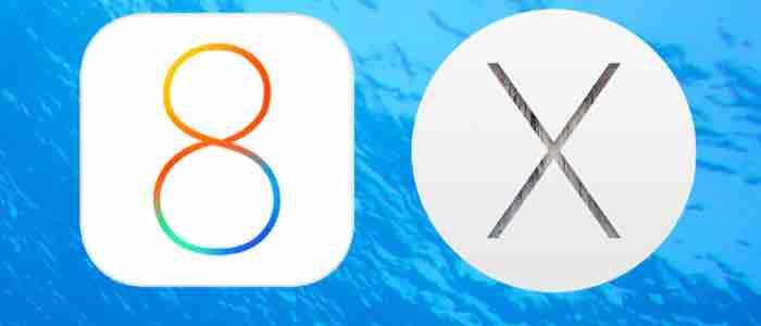 Aktualizacje dla systemów OS X Yosemite oraz iOS 8