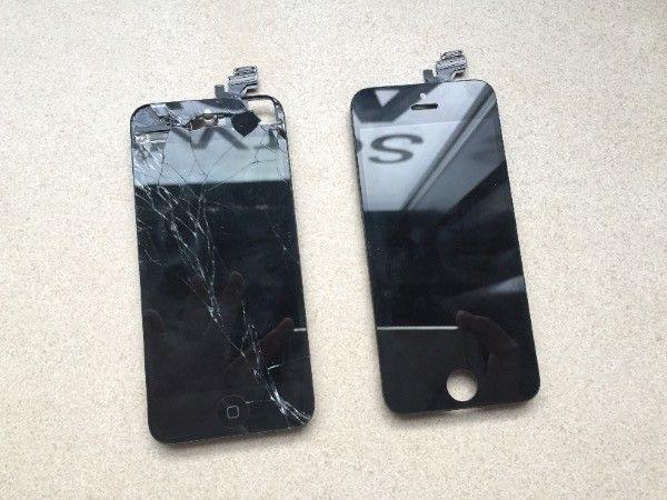 Zbita szybka w iPhone – gdzie wymienić na oryginał szybkę w iPhone? W serwis iPhone, iPod, iPad Szczecin AppleMobile.pl