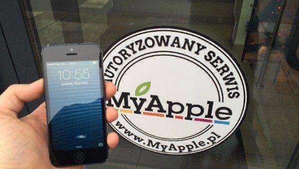 Wymiana zbitej szybki w iPhone Szczecin serwis apple 20